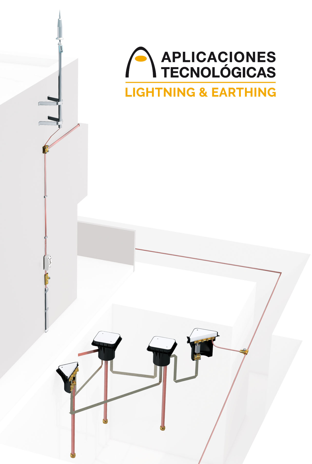 Lightning rod, a permanent measure for protection of occupational risks caused by lightning strikes