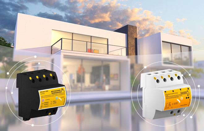 Surge Protection Devices for domotic installation