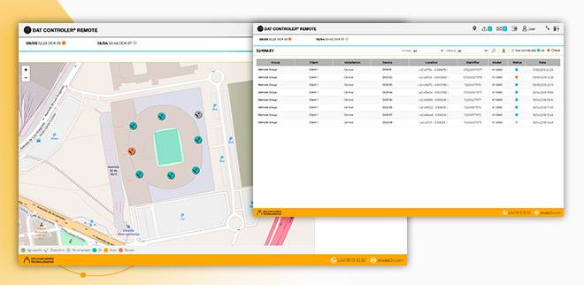 aplicación web para monitorizar los pararrayos instalados