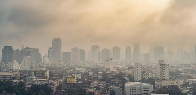 calentamiento global y aumento de rayos