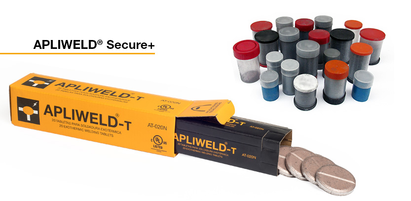 carga en polvo soldadura exotérmica y carga en tabletas