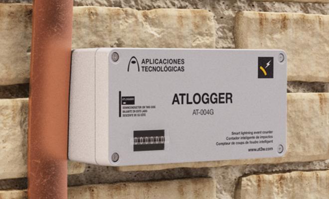 contador de rayos registrador de la actividad eléctrica exigido por algunas aseguradoras