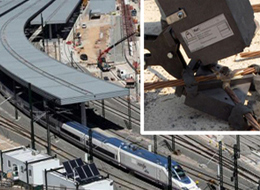 APLIWELD® in AVE (high-speed train) railway station in Valencia