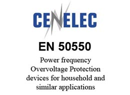 Power frequency Overvoltage Protection devices for household and similar applications according to EN 50550