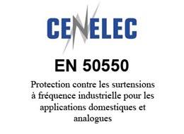Protection contre les surtensions à fréquence industrielle pour les applications domestiques et analogues (POP) selon la norme EN 50550
