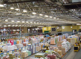 Surge protection in an important Spanish logistics centre of the food sector
