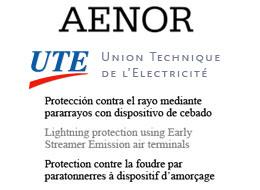 Novas edições das principais Normas de protecção contra o raio com pára-raios com dispositivo ionizante não radioactivo