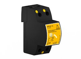 New ATSUB 100: One-pole overvoltage protection for power supply lines