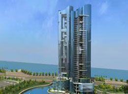 Lightning Protection in Abu Dhabi Saraya Towers