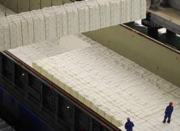 Pára-raios DAT CONTROLER® PLUS  numa das maiores superfícies Europeias de fabricação de celulose