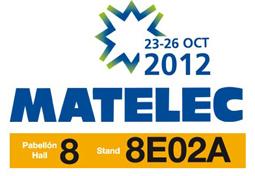Aplicaciones Tecnológicas na Matelec 2012-Salão Internacional da Industria Eléctrica e Electrónica