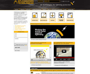 We release a new website with all the information about lightning protection.