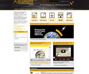 Estreámos novas páginas Web com toda a informação sobre protecção contra o raio