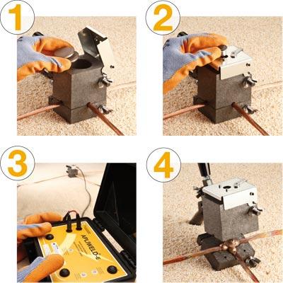 Sesiones formativas del nuevo sistema de soldadura exotérmica Apliweld® Secure+ en Matelec 2012