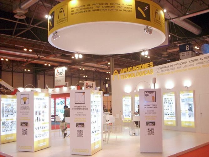Extraordinário acolhimento do novo sistema de soldadura exotérmica Apliweld® Secure+ na Matelec 2012, Madrid, Espanha