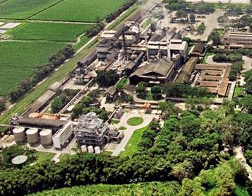 Pára-raios DAT CONTROLER® PLUS num das fábricas mais importantes de produção de açúcar e bio etanol da Colômbia