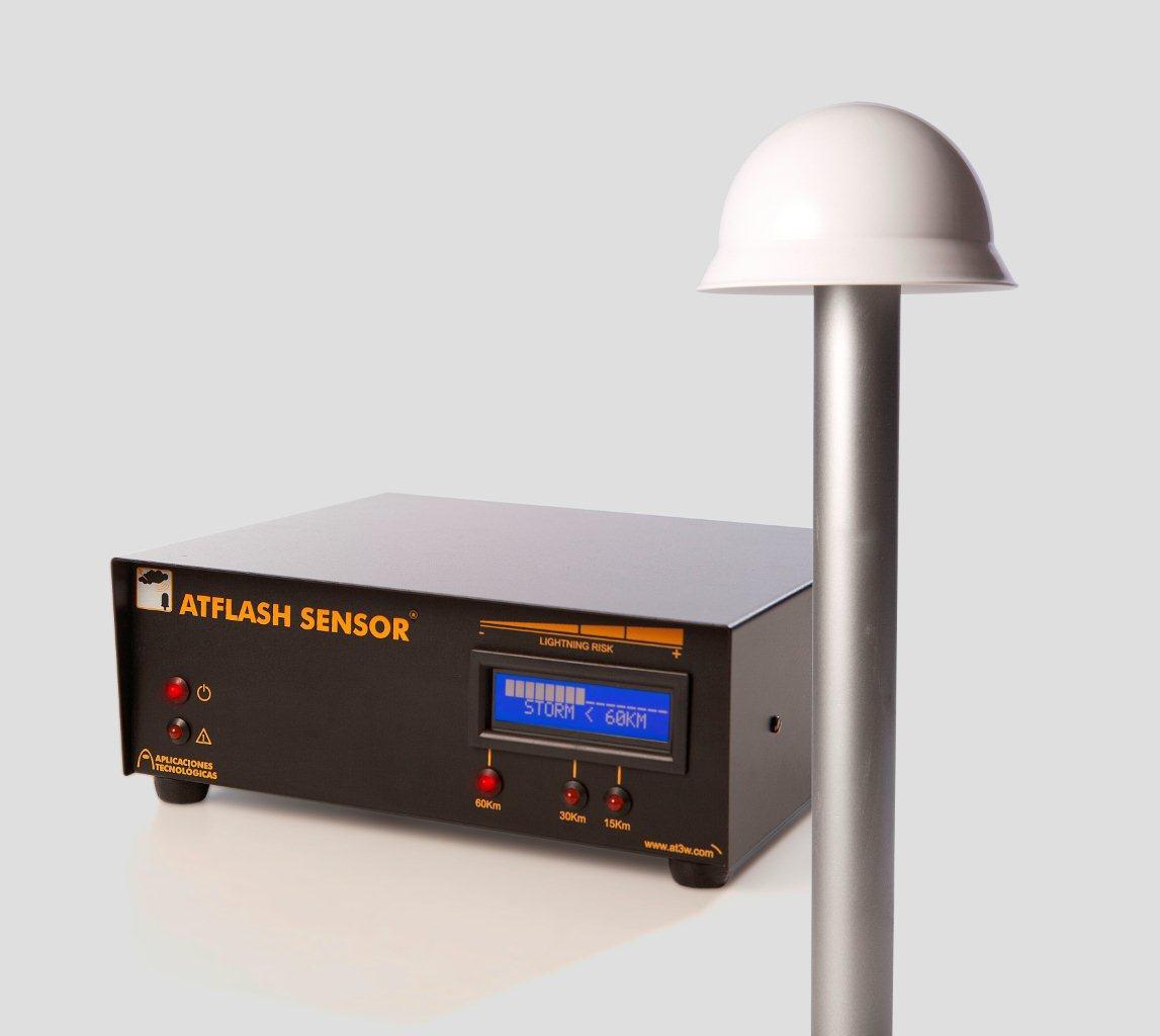 ATFLASH SENSOR – Nouveau détecteur d'orages en temps réel