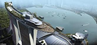 ATSTORMv2 watches over one of the most emblematic buildings of recent construction: Singapore Marina Bay Sands