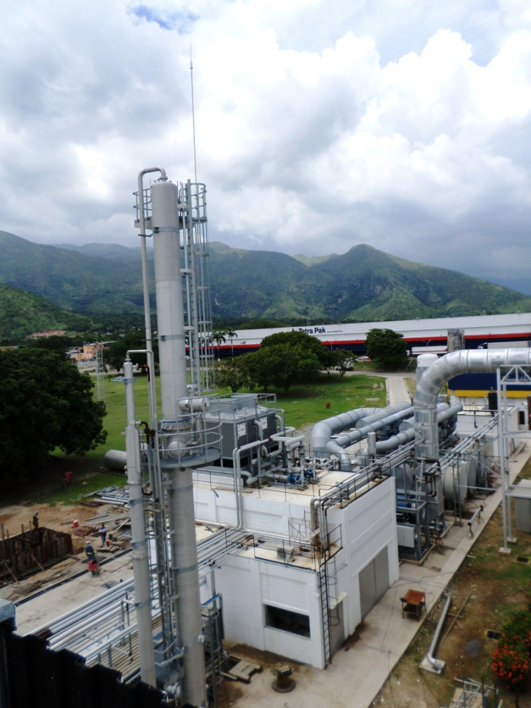 DAT CONTROLER PLUS Air Terminal protects  an industrial plant in Venezuela