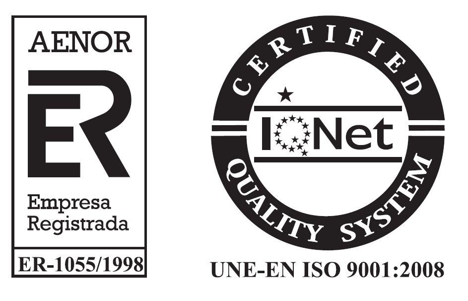 Aplicaciones Tecnológicas, S.A. a obtenu, comme chaque année, la certification de son Système de Gestion de la Qualité, selon la norme ISO 9001
