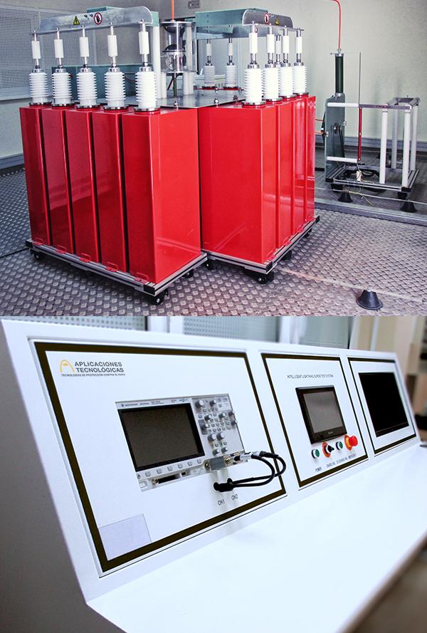 Nuevo laboratorio con generador de 8/20 µs y 250 kA