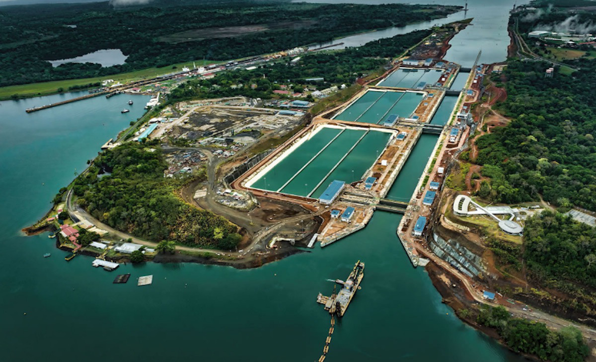 The Panama Canal expansion, protected against lightning strikes with equipment from Aplicaciones Tecnológicas, S.A.