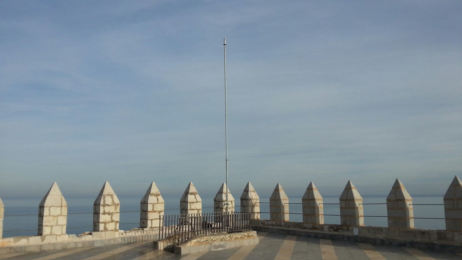 Aplicaciones Tecnológicas, S.A. protects Peñíscola Castle against lightning strikes