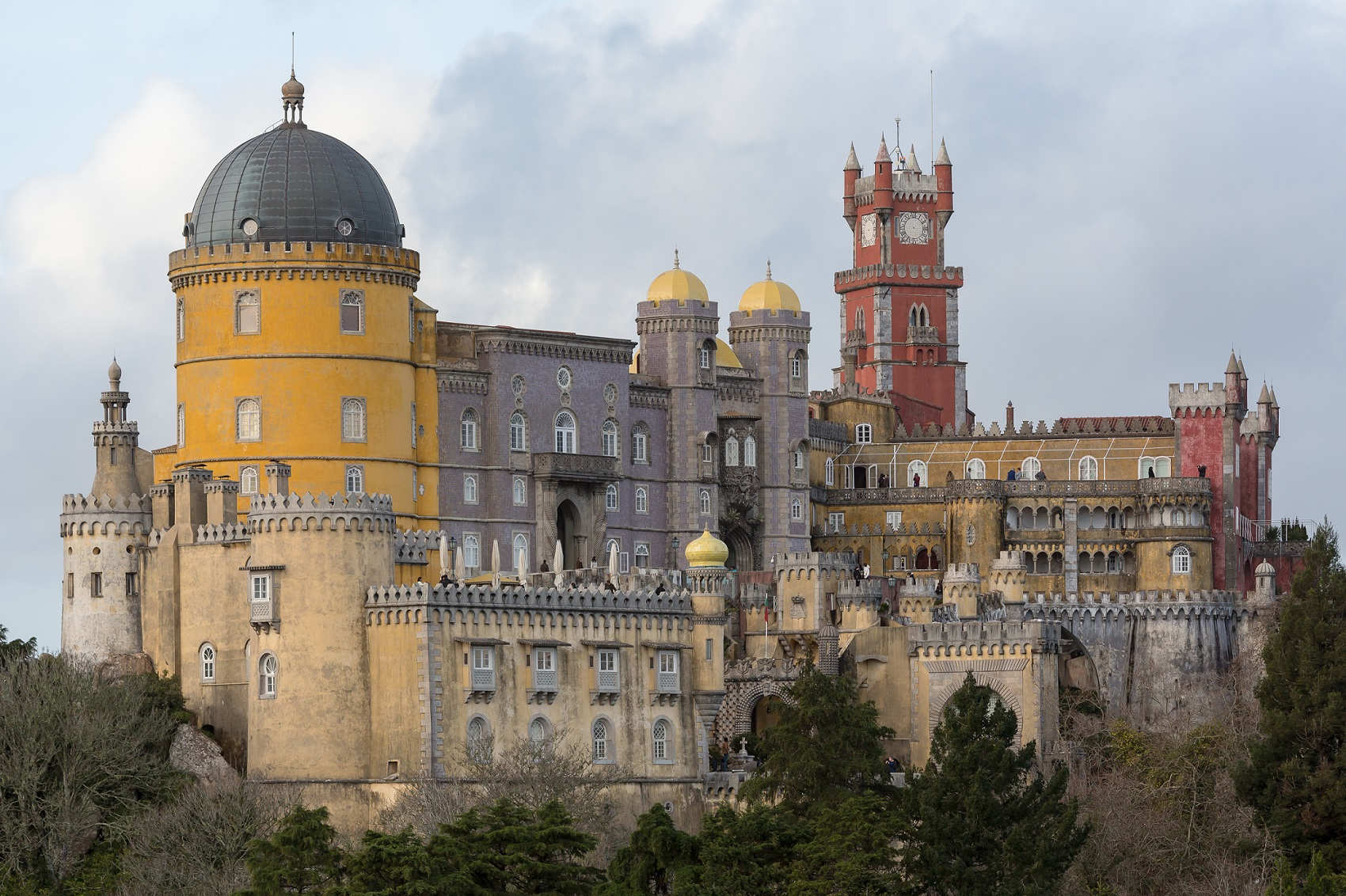 Da Pena Palace in Sintra is protected against lightning strikes with our materials