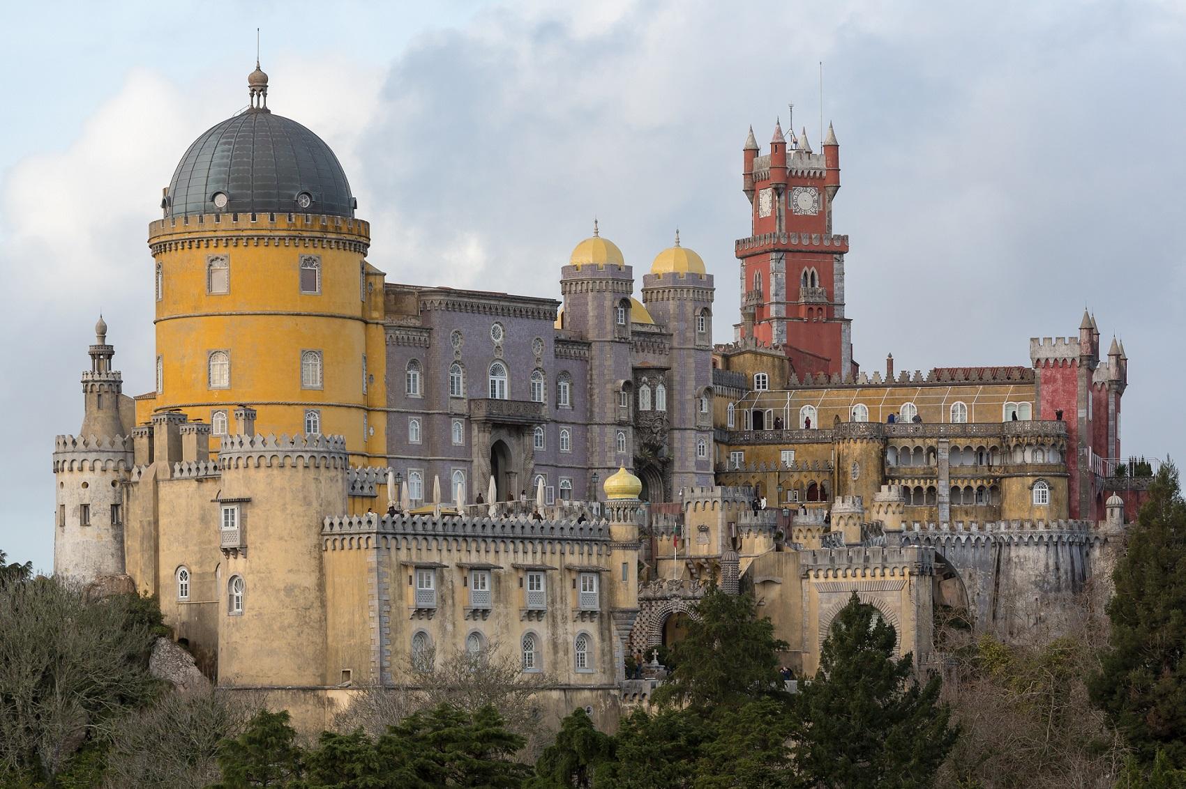 El Palacio da Pena en Sintra ya está protegido contra el rayo con nuestros materiales