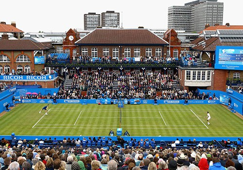 The Queen's Club is protected from lightning with the effectiveness of DAT Controler® Plus