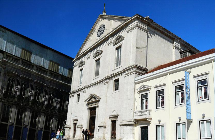 Aplicaciones Tecnológicas responsable de la protection de l'église Saint-Roch (São Roque) à Lisbonne au Portugal