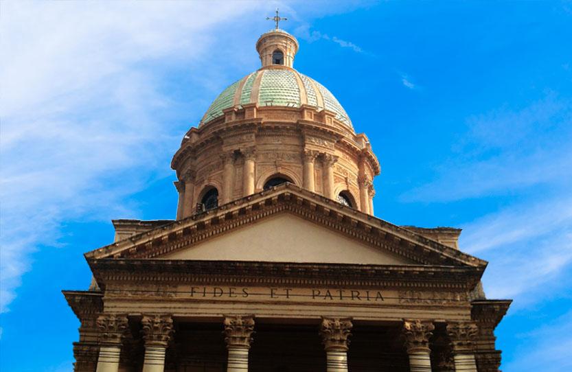 Protegemos contra el rayo el Panteón Nacional de los Héroes en Paraguay