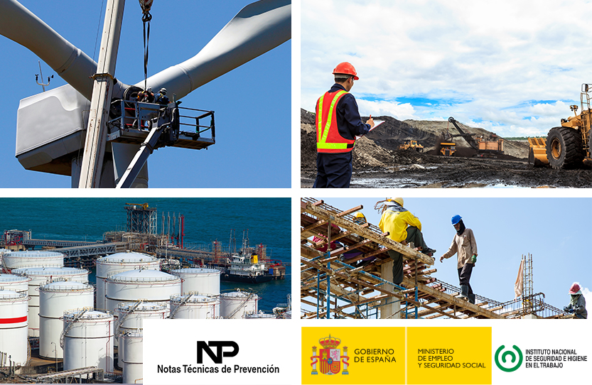 We collaborate in the drafting of the Technical Note of Prevention for occupational hazards caused by lightning