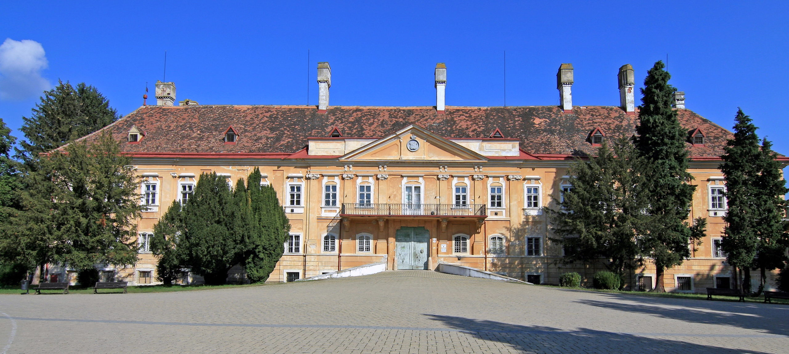 DAT CONTROLER® REMOTE lightning rods protect Malacky Castle in Slovakia