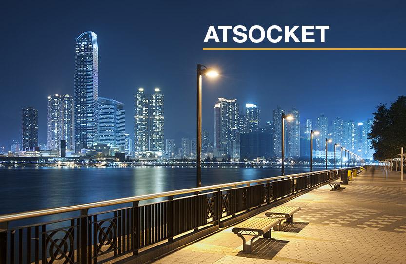 ATSOCKET – Todas las posibilidades para la protección de luminarias exteriores contra sobretensiones transitorias causadas por los rayos