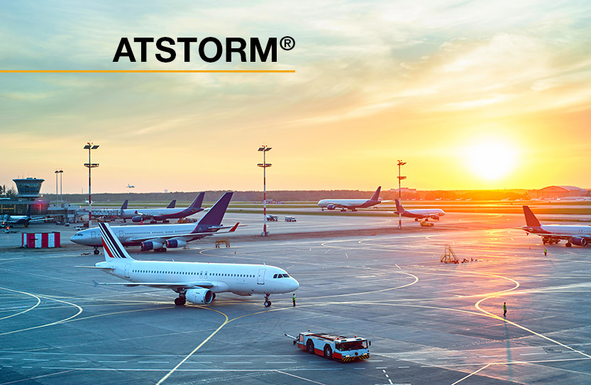 Storm detection system: key in the risk prevention of airports