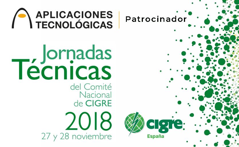 Aplicaciones Tecnológicas patrocina las Jornadas Técnicas del Comité Nacional de CIGRE 2018