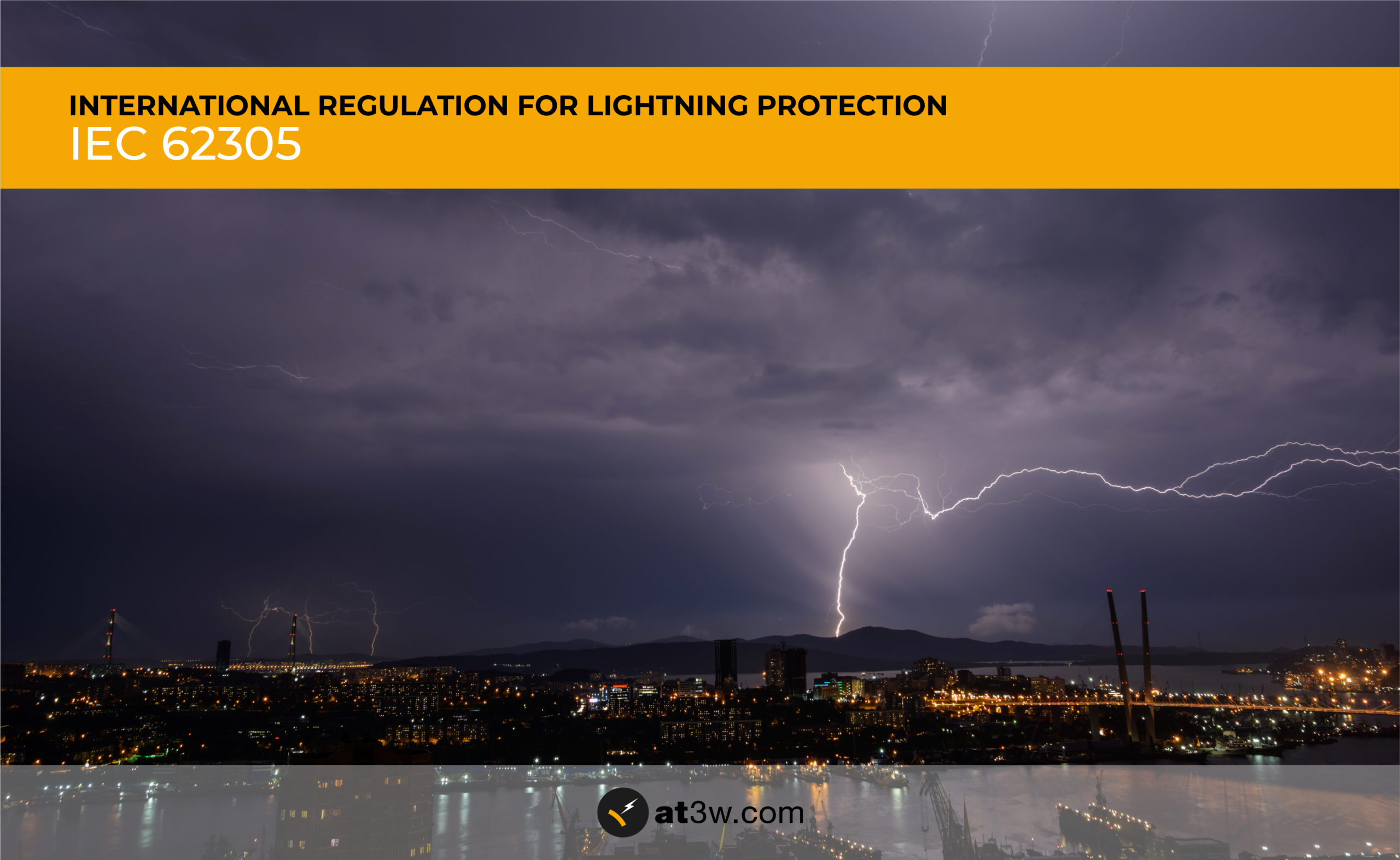 Aplicaciones Tecnológicas was present at the review of the international regulation IEC 62305 for lightning protection