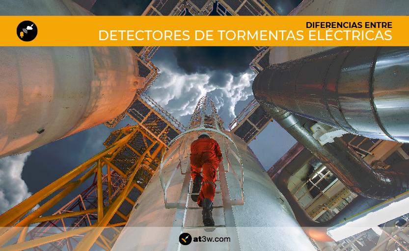 Diferencias entre detectores de tormentas eléctricas, UNE-EN IEC 62793