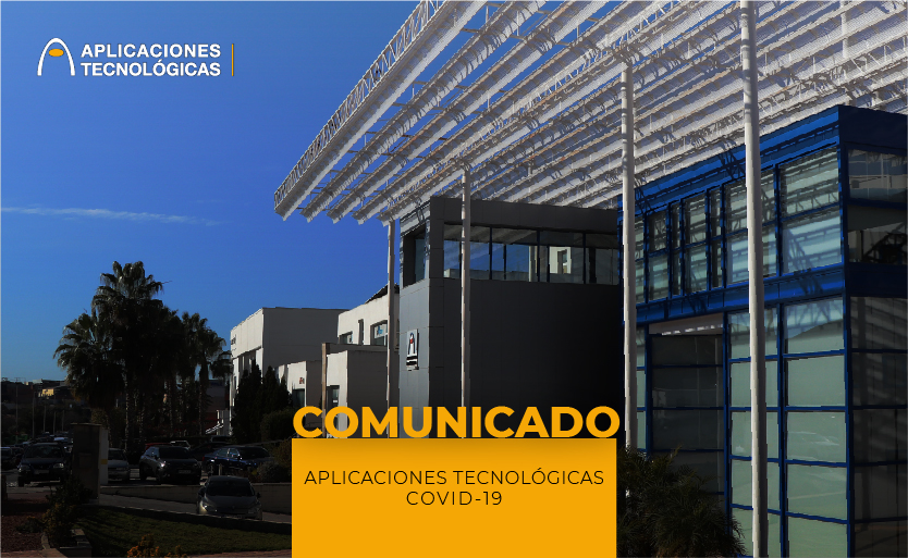 Comunicado Aplicaciones Tecnológicas Covid-19