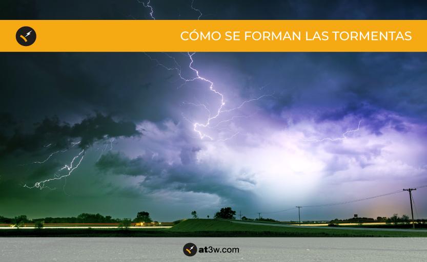 tormenta eléctrica, rayo