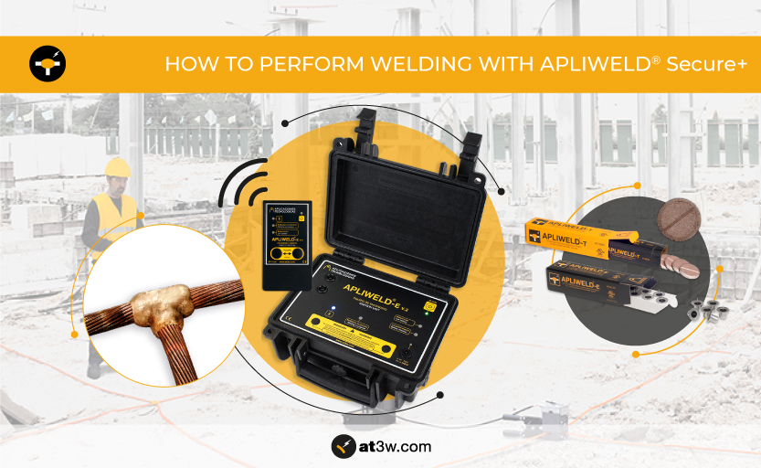 How to perform exothermic welding with Apliweld® Secure+ electronic ignition