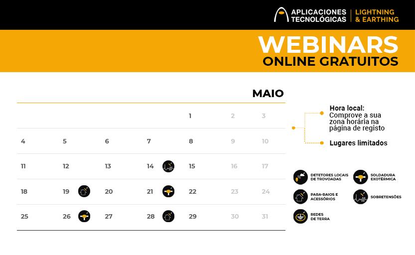 Próximos cursos online gratuitos dirigidos a profissionais: maio e junho 2020