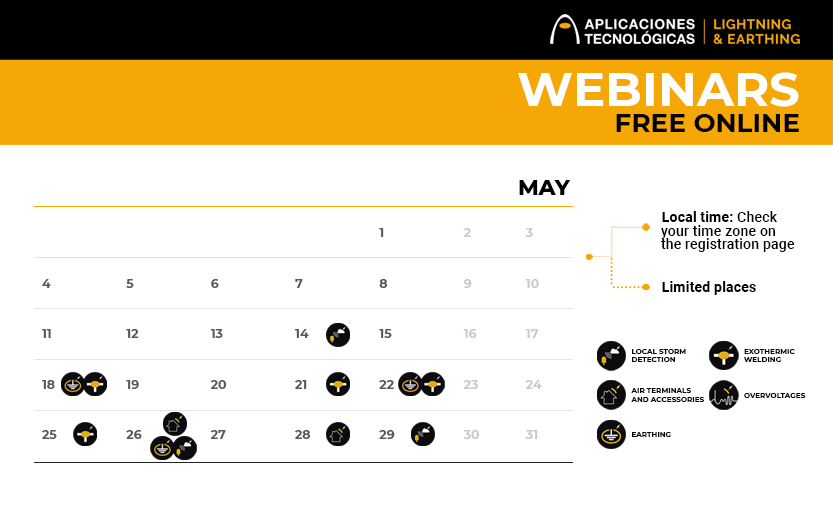 Upcoming free online webinars for professionals: May and June 2020