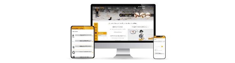 New webiste, Aplicaciones Tecnológicas