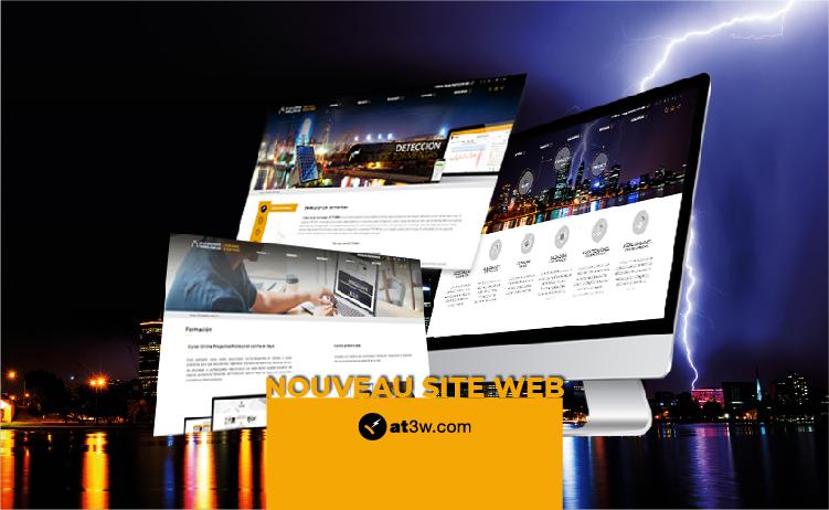 Nouveau site web, Aplicaciones Tecnológicas