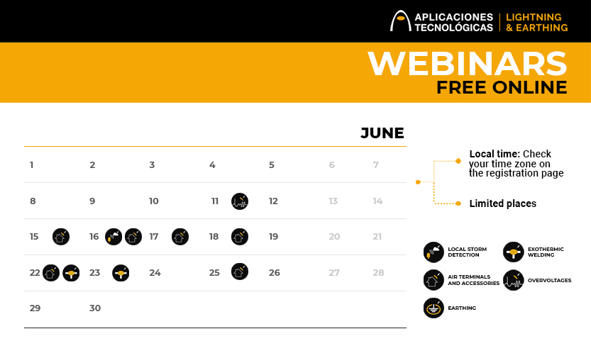 Upcoming free online webinars for professionals: June and July 2020