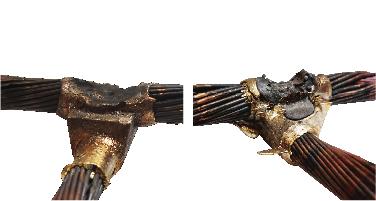 soldadura exotérmica, soldadura aluminotérmica, errores
