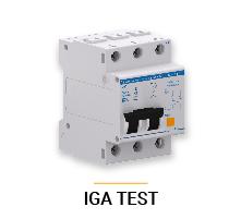 protección contra sobretensiones, IGA TEST