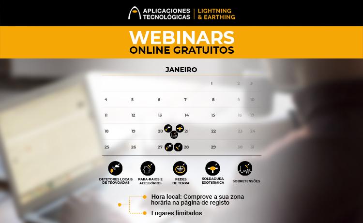 webinars, Janeiro 2021